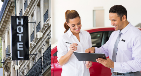 Pick-up your car from your hotel or apartment - Hotel Delivery Car Rental